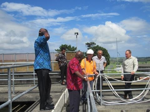 Dele at water treatment plant3